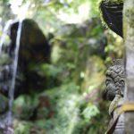 妙見山の本院「真如寺」の「白糸の滝」